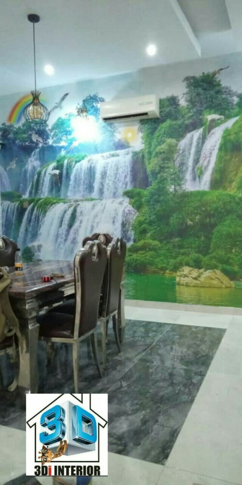 Wall mural waterfall